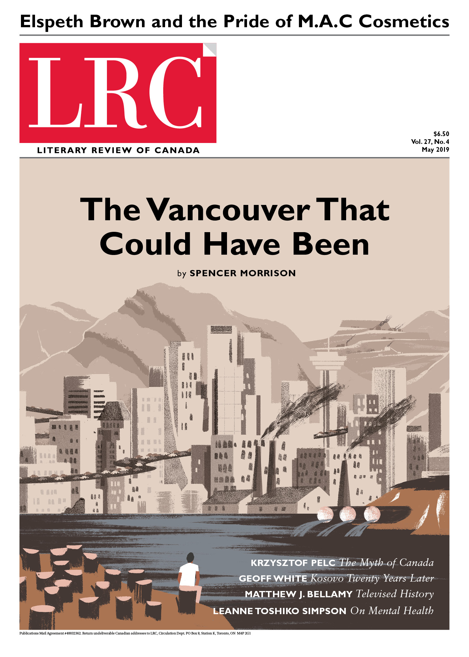 Back Issues | Literary Review of Canada